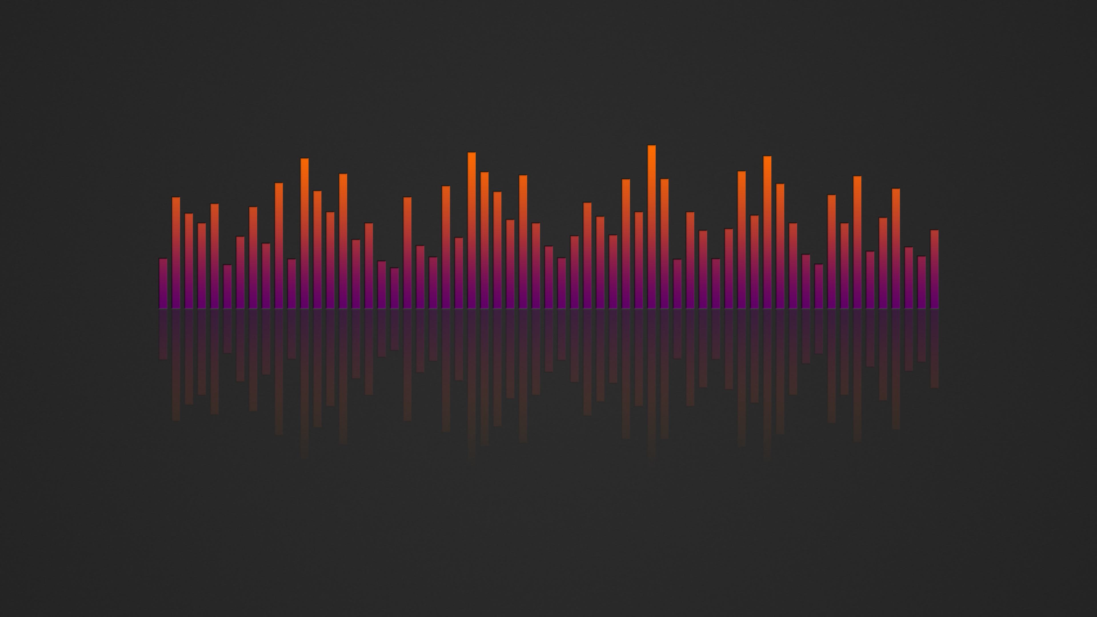 Music Visualizer 4k Wallpaper Orange Purple By Rv770 On