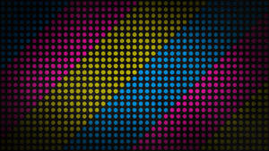 Textured Color Dots 4K Wallpaper by RV770