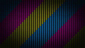 Color Dots 4K Wallpaper