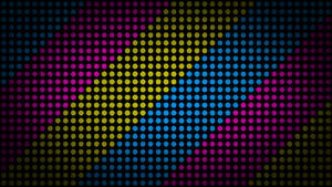 Color Dots 4K Wallpaper by RV770