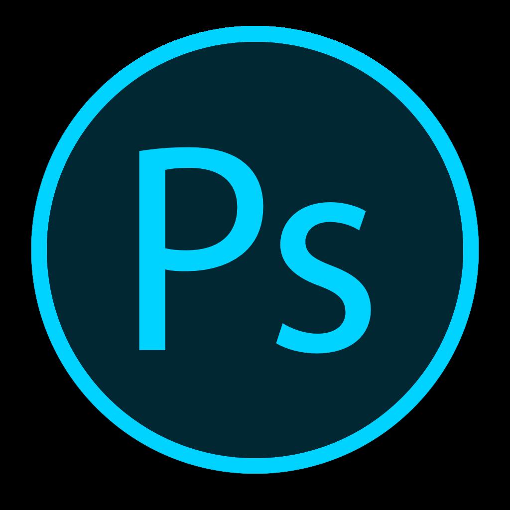 Photoshop circle icon