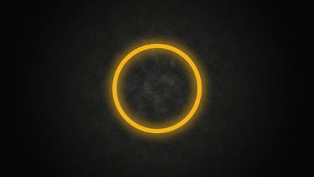 Glowing Circle 5K Wallpaper