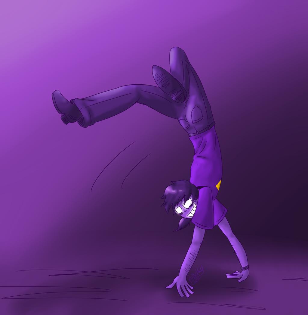[FNAF 2] A Very Flexible Purple Guy By Kilala1148 On