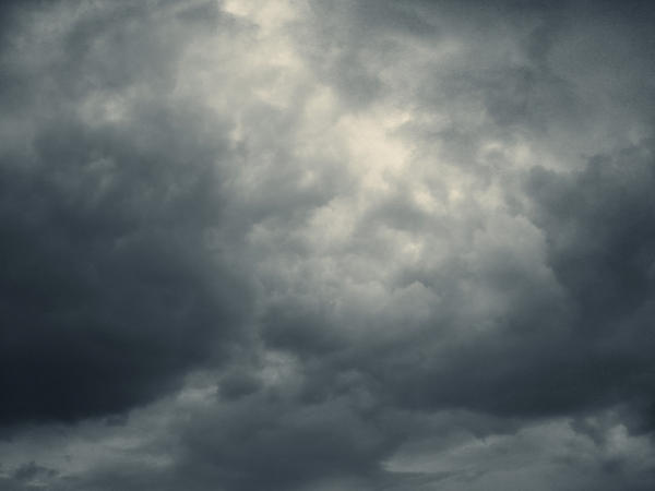 heavy clouds four..
