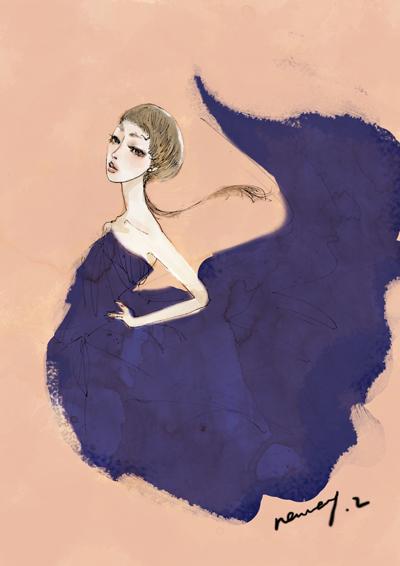 fashion illustration2 by nancy0039