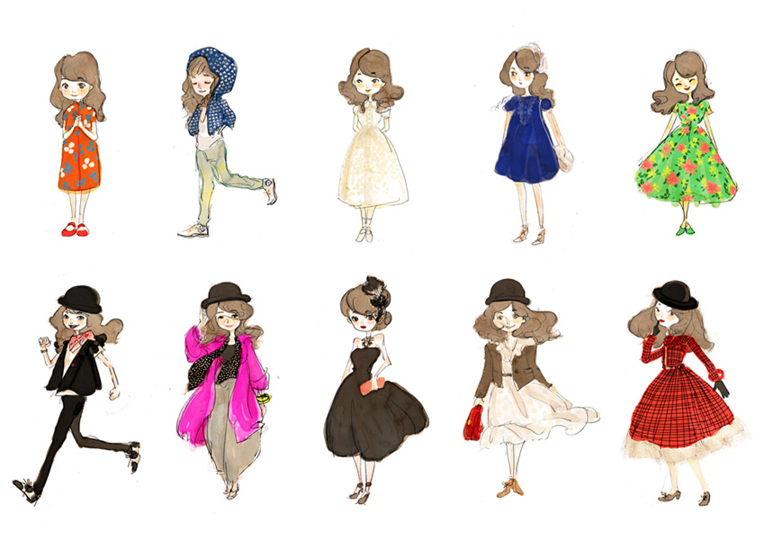 My outfit collection NO.2 by nancy0039