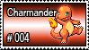 004 - Charmander by PokeStampsDex