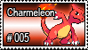 005 - Charmeleon by PokeStampsDex