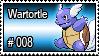 008 - Wartortle by PokeStampsDex