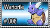 008 - Wartortle by PokeStampsDex