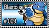 009 - Blastoise by PokeStampsDex