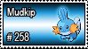 258 - Mudkip by PokeStampsDex