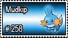 258 - Mudkip by PokeStampsDex