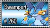 260 - Swampert by PokeStampsDex