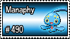 490 - Manaphy by PokeStampsDex