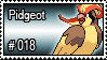 018 - Pidgeot by PokeStampsDex