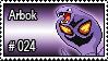 024 - Arbok by PokeStampsDex