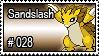 028 - Sandslash by PokeStampsDex