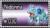 030 - Nidorina by PokeStampsDex
