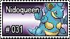 031 - Nidoqueen by PokeStampsDex