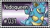 031 - Nidoqueen by PokeStampsDex