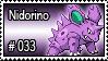 033 - Nidorino by PokeStampsDex