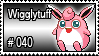 040 - Wigglytuff by PokeStampsDex