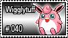 040 - Wigglytuff by PokeStampsDex