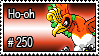 250 - Ho-oh by PokeStampsDex