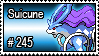245 - Suicune by PokeStampsDex