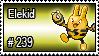 239 - Elekid by PokeStampsDex