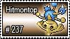 237 - Hitmontop by PokeStampsDex