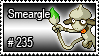 235 - Smeargle by PokeStampsDex