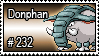 232 - Donphan by PokeStampsDex