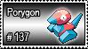 137 - Porygon by PokeStampsDex