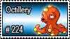224 - Octillery by PokeStampsDex