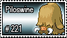221 - Piloswine by PokeStampsDex