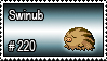 220 - Swinub by PokeStampsDex