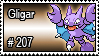 207 - Gligar by PokeStampsDex