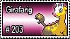 203 - Girafarig