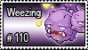 110 - Weezing