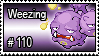 110 - Weezing by PokeStampsDex