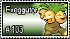 103 - Exeggutor by PokeStampsDex
