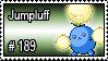 189 - Jumpluff by PokeStampsDex