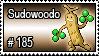 185 - Sudowoodo by PokeStampsDex