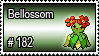 182 - Bellossom by PokeStampsDex
