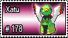 178 - Xatu by PokeStampsDex