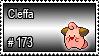 173 - Cleffa by PokeStampsDex
