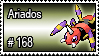 168 - Ariados by PokeStampsDex