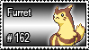 162 - Furret by PokeStampsDex